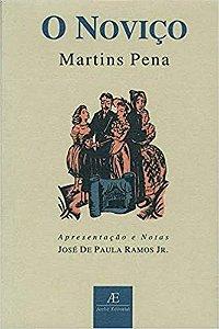 Livro o Noviço Autor Martins Pena (2001) [usado]