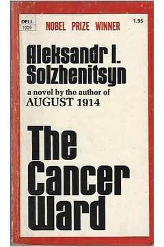 Livro The Cancer Ward Autor Aleksandr L. Solzhenitsyn (1973) [usado]