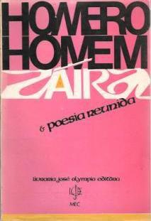Livro o de Záira Kemper e Poesia Reunida Autor Homero Homem (1972) [usado]