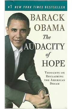 Livro The Audacity Of Hope Autor Barack Obama (2008) [usado]