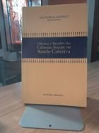 Livro Dilemas e Desafios das Ciências Sociais na Saúde Coletiva Autor Ana Maria Canesqui (org.) (1995) [usado]