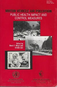 Livro Motor Vehicle Air Pollution Autor David T. Mage And Olivier Zali (edited) (1992) [usado]