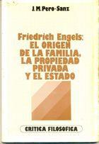 Livro El Origen de La Familia, La Propiedad Privada Y El Estado Autor Friedrich Engels (1981) [usado]