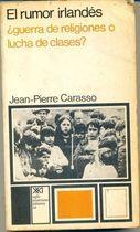 Livro El Rumor Irlandés Autor Jean-pierre Carasso (1972) [usado]
