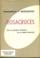 Livro Perguntas Y Respuestas Rosacruces Autor H. Spencer Lewis (1966) [usado]