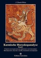 Livro Karmische Horoskopanalyse Band I Autor J. Claude Weiss (1995) [usado]