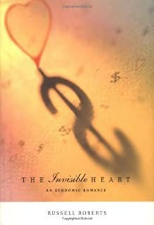 Livro The Invisible Heart Autor Russell Roberts (2001) [usado]