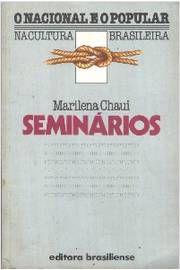 Livro Seminários Autor Marilena Chauí (1983) [usado]
