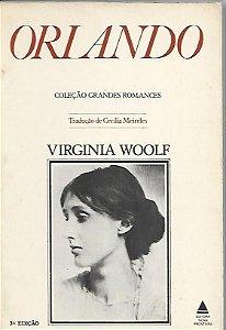 Livro Orlando Autor Virginia Woolf (1978) [usado]