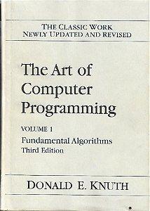 Livro The Art Of Computer Programming: Volume 1: Fundamental Algorithms Autor Donald E. Knuth (1998) [usado]
