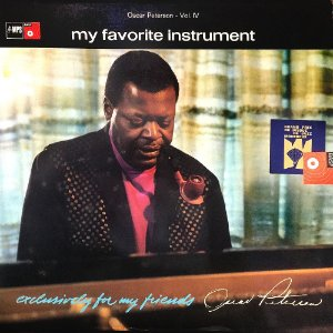 Oscar Peterson Vol. IV - 1968 - My Favorite Instrument - Exclusively For My Friends (IMP)