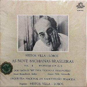 Villa-Lobos - As Nove Baquianas Brasileiras - Vol.04 - Bachianas 8 e 9