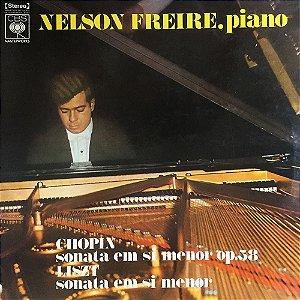 Nelson Freire – Liszt ∙ Chopin – 1970 - Die Grossen H-moll Sonaten Op 143 ∙ Op 58
