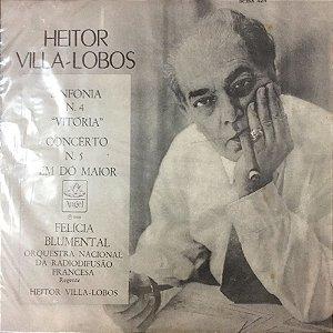 Villa-Lobos - 1966 - Sinfonia N 4 & Conc N 5 Felícia Blumental