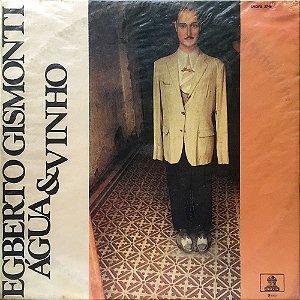 LP - Egberto Gismonti - 1972 - Água & Vinho