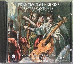 Francisco Guerrero - 1992 - Sacrae Cantiones - Motecta 4 5 6 8 12 Vocum - Sevilla 1555 - Venezia 1570