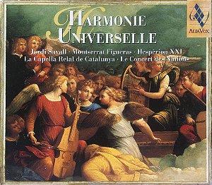 Jordi Savall - Montserrat Figueras - Hespèrion XXI - 1998 a 2001 - Harmonie Universelle - La Capella Reial de Catalunya - Le Concert des Nations