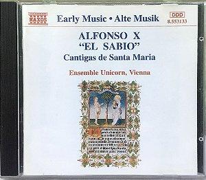 Alfonso X El Sabio - Cantigas de Santa Maria - 1994 - Ensemble Unicorn - Vienna