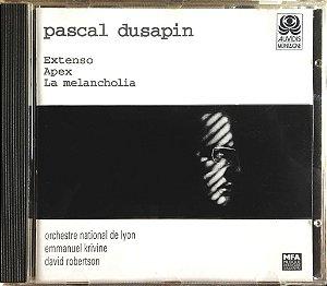 Pascal Dusapin - 1997 - Extenso - Apex - La Melancholia (Orchestre National De Lyon - Emmanuel Crivine - David Robertson)