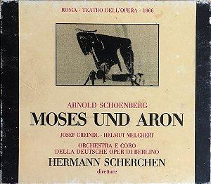Arnold Schoenberg - Hermann Scherchen - 1989 - Moses Und Aron (caixa com 2 CDs)