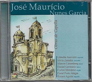 José Maurício Nunes Garcia - 2007 - Obras De Capella - NOVO