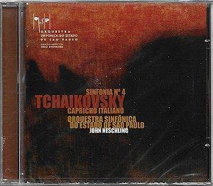 Tchaikovsky - 2008 - Sinfonia N.4 Capricho Italiano - OSESP - Neschling - NOVO