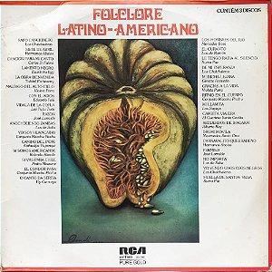 Folclore Latino-Americano - 1976 - Coletanea - Contém 3 Discos
