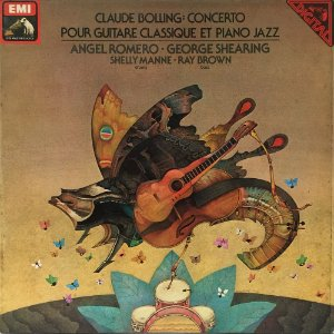 Claude Bolling - 1981 - Concerto Pour Guitare Classique Et Piano Jazz - Angel Romano - George Shearing - Shelly Manne - Ray Brown