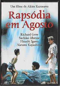Rapsódia Em Agosto - 1991 - Akira Kurosawa - DVD