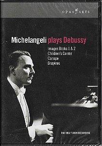 Arturo Benedetti Michelangeli - 1962 - 2006 - Michelangeli Plays Debussy - DVD