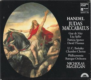 George Frideric Handel 1685-1759 - Judas Maccabaeus - CD