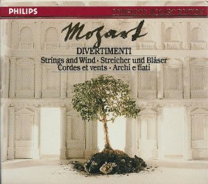 Complete Mozart Edition Vol. 4 - Divertimenti for String and Wind - Academy of St Martin in the Fields Chamber Ensemble - 5 CDs