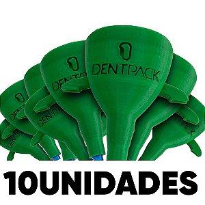 10 Unidade Sugador + Estojo Dentpack