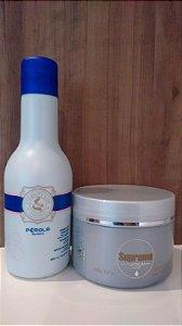 kit Shampoo e Máscara Roxa Matizadora Platinum 0419