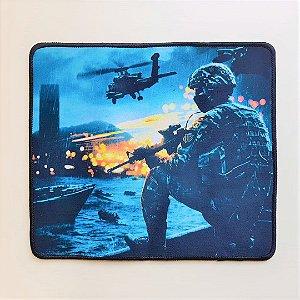 Mouse Pad Gamer Estampa Battlefield 29cmx25cm Notebook E Pc