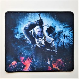 Mouse Pad Gamer Estampa The Witcher 29cmx25cm Notebook E Pc