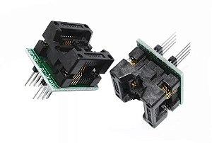 Adaptador Gravador Bios Memoria Flash Zif Sop8 Dip8 200mil
