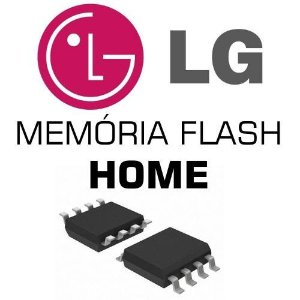 Memoria Flash Home Lg Ht306su Chip Gravado
