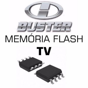 Memoria Flash Tv Hbuster Hbtv-3201hd Placa V5 Chip Gravado