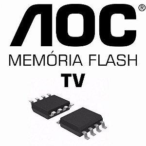 Memoria Flash Tv Aoc Le23h037 Chip Gravado