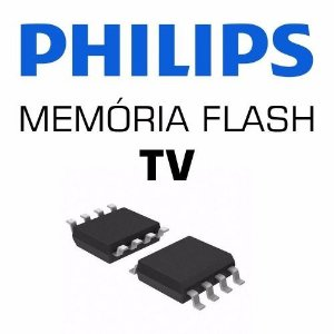 Memoria Flash Tv Philips 46pfl3008d/78 Chip Gravado