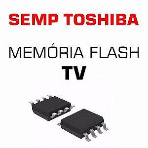 Memoria Flash Tv Semp Toshiba Le4057i A Chip Gravado