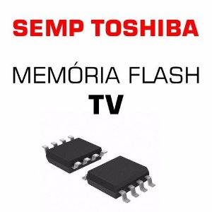 Memoria Flash Tv Semp Toshiba Le3264 (a) W Chip Gravado