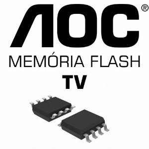 Memoria Flash Tv Aoc Lc42d1320 Ic406 Chip Gravado