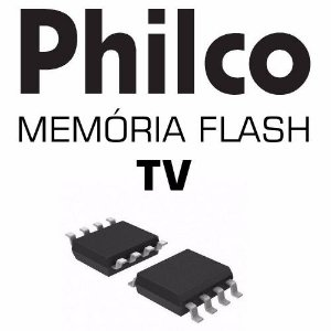 Memoria Flash Tv Philco Ph43c21p 3d Versão A Chip Gravado