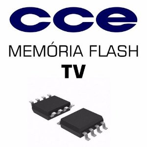 Memoria Flash Tv Cce Ln244w Chip Gravado