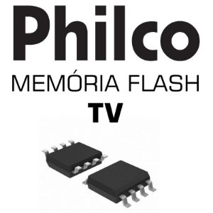 Memoria Flash Tv Philco Ph24d20dm2 Chip Gravado Frete 6,00