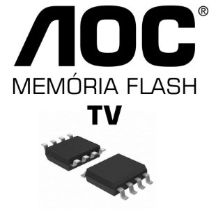 Memoria Flash Tv Aoc Le19w037 Chip Gravado