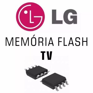 Memoria Flash Tv Lg 42ln5400 Ic1300 Chip Gravado