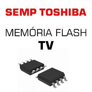 Memoria Flash Tv Semp Toshiba Le4058 (c) Chip Gravado